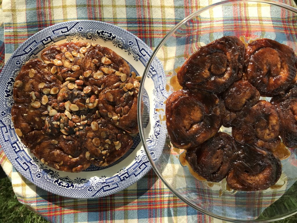 treacle sticky buns