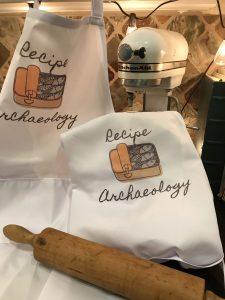 recipe archaeology apron